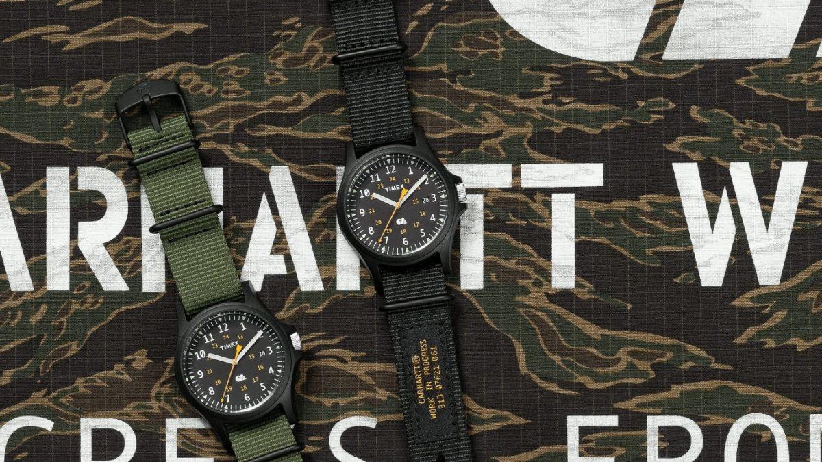 Carhartt WIP X Timex