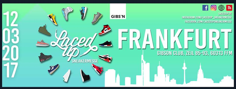 Laced Up Sneaker & Modemesse Frankfurt