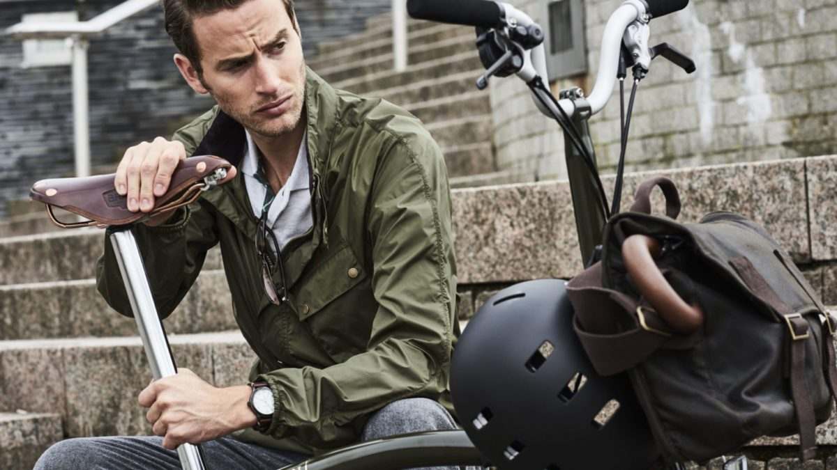 A very British Commuter: Barbour X Brompton