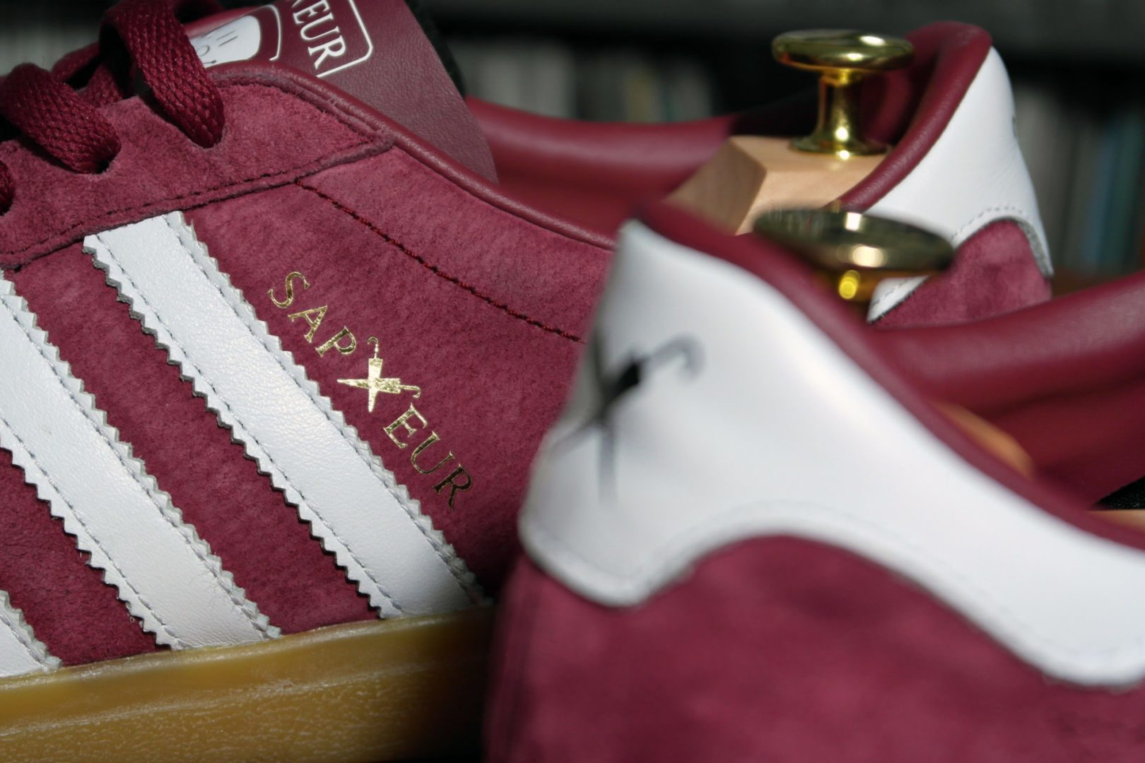 Sapeur OSB im Gespräch: Benji Blunt, Sneaker Kunsthandwerker