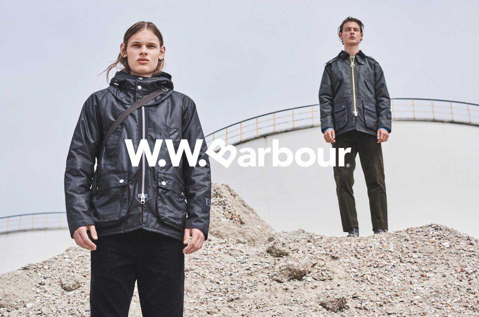 Barbour X Wood Wood – Britische Wachsjacken treffen auf dänische Designs