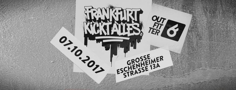 Outfitter kommt nach Frankfurt und lässt es am Samstag krachen!