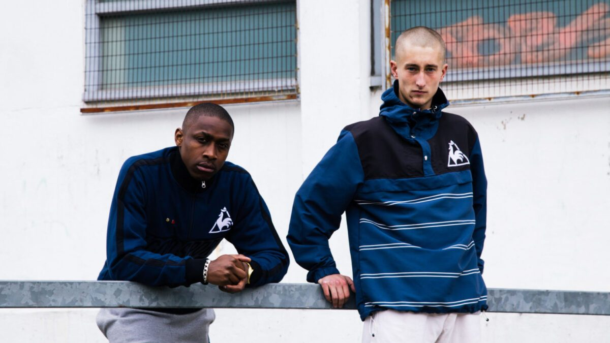 """le coq sportif x Neal Heard """"A Lover´s Guide to St-Étienne"""""""