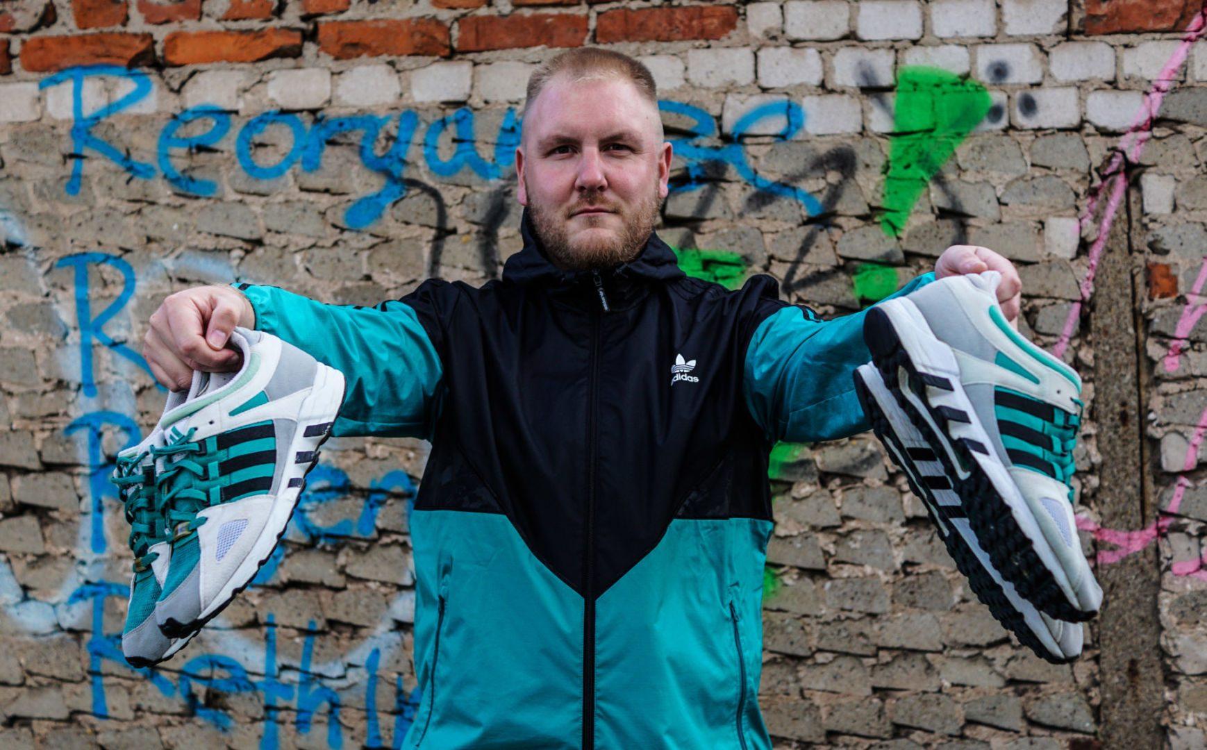 Sapeur OSB im Gespräch mit dem Adidas Sammler Azzido