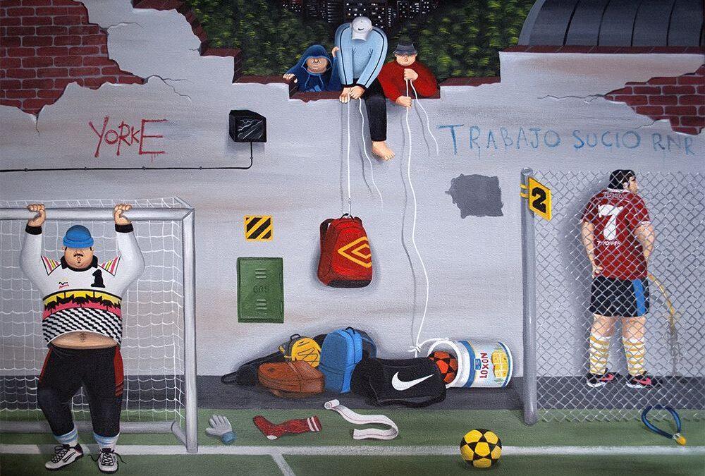 Die Kunst von Martin Gordopelota– Bolzen, Bierbäuche und Zigaretten