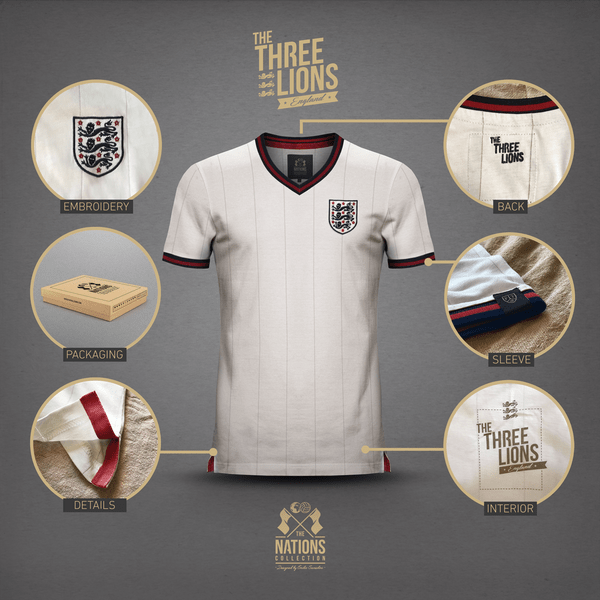 "Emilio Sansolini X Vintage Football Town präsentieren ""The Nations Collection"""
