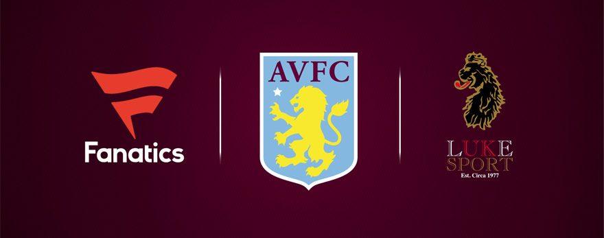 LUKE 1977 wird neuer Ausrüster von Aston Villa