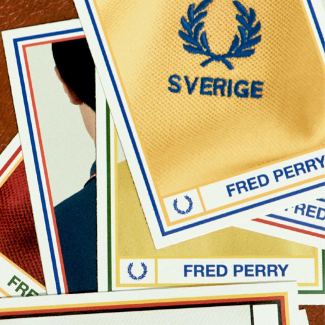 Fred Perry präsentiert anlässlich der WM 2018 neue Country Shirts