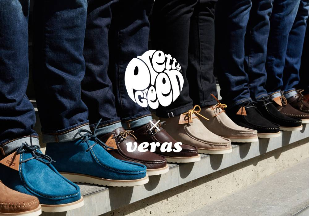 Pretty Green X Veras – Very British. But Made in Spain