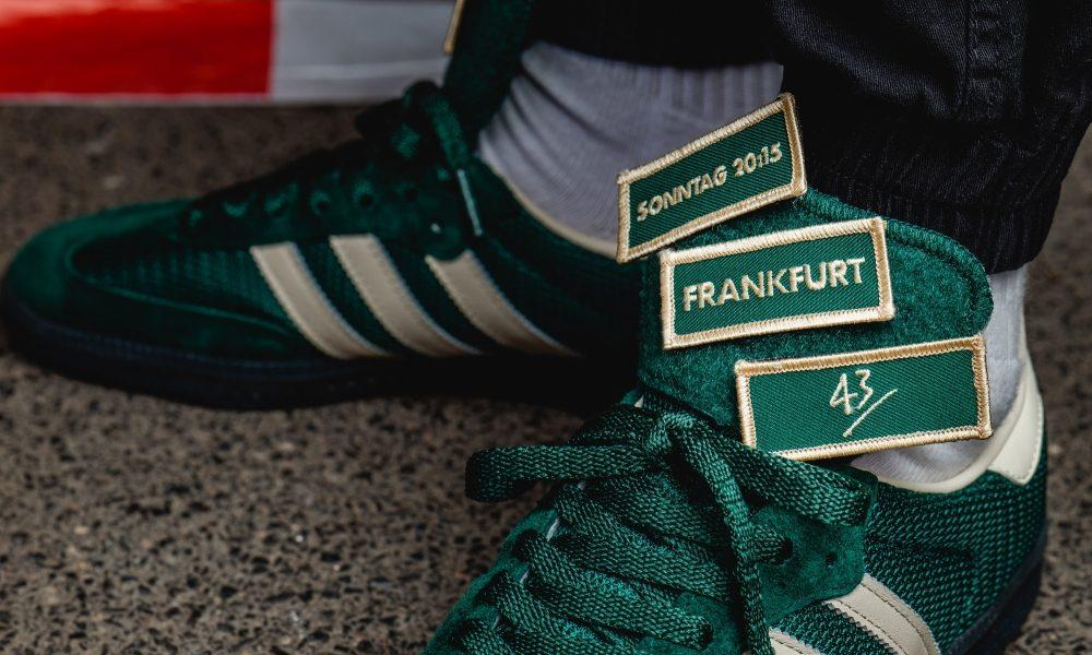 """Adidas Samba LT und die 43einhalb Ermittlungsgruppe """"Sonntag 20:15"""""""