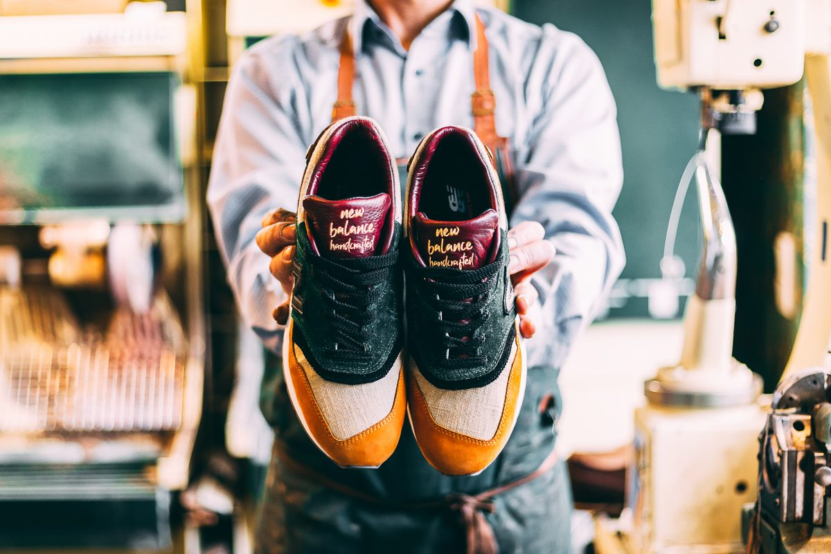 Afew X New Balance Craftsmanship – Sneaker und Handwerkskunst
