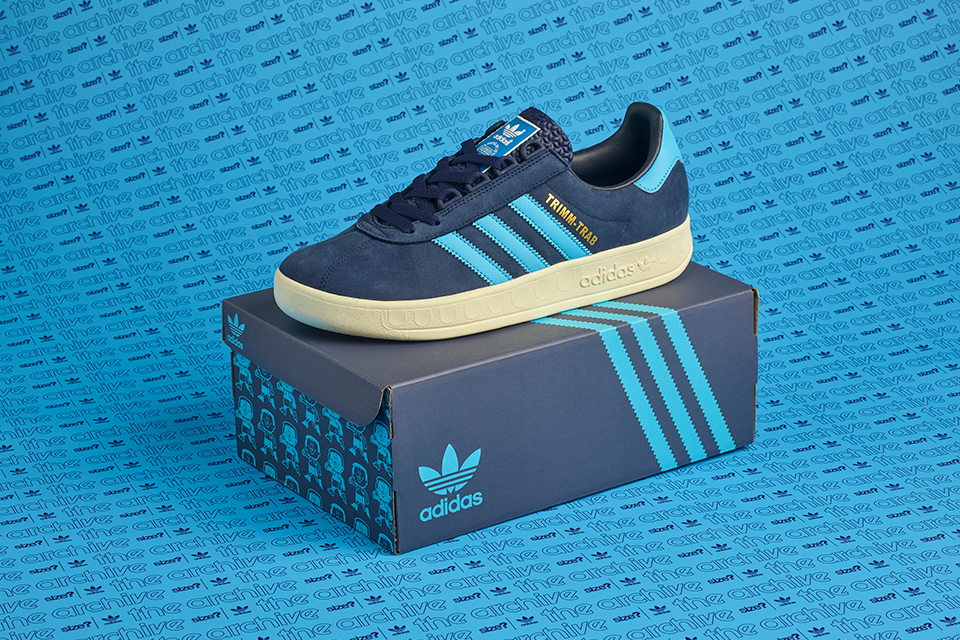 "Burlas Pelearse Continente  Got your Trabs?"" adidas Trimm Trab ""Trimmy"" als size? Exclusive 