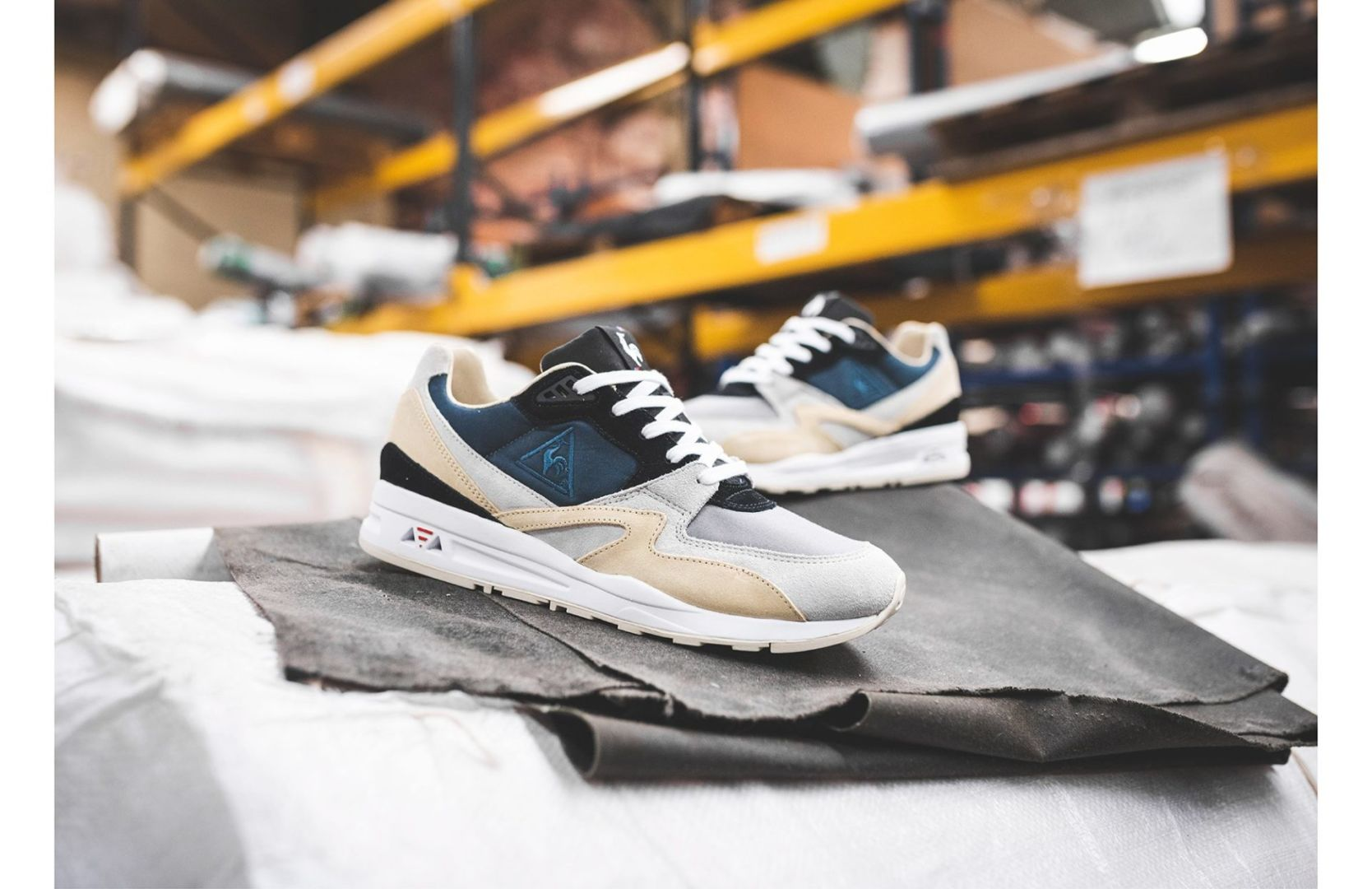 "Hanon X Le Coq Sportif LCS R800 ""The good Agreement"" – Made in France"