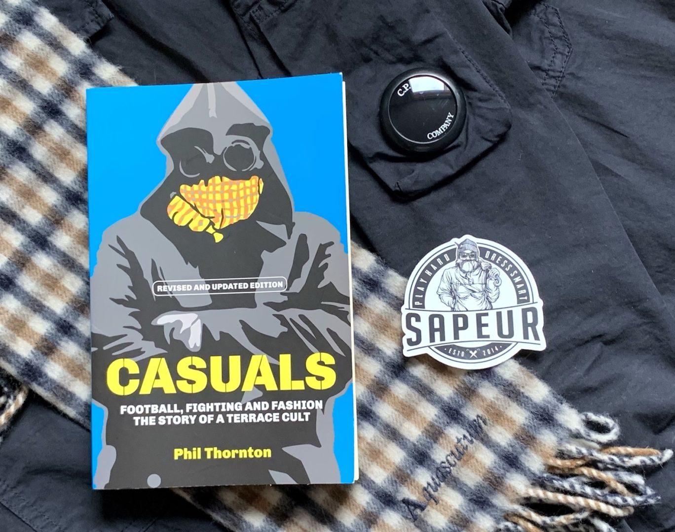 """Sapeur OSB im Gespräch: Phil Thornton, Autor von """"CASUALS"""""""