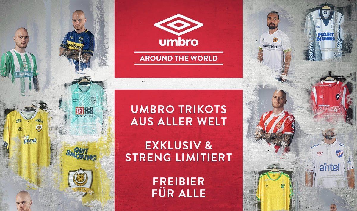 Outfitter Frankfurt mit Umbro around the World