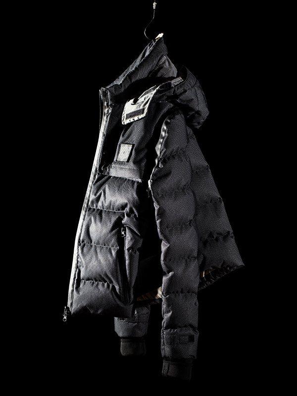 Plurimus startet den Verkauf der Fractalis Reflective Down Jacket