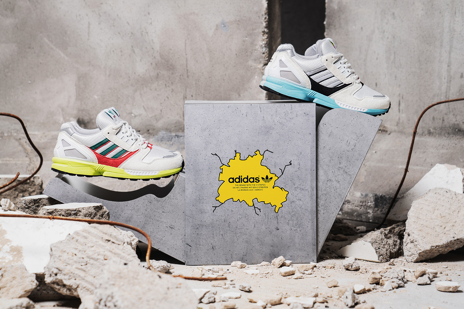 "Overkill Shop | adidas ZX8000 ""No Walls Needed"" Package"