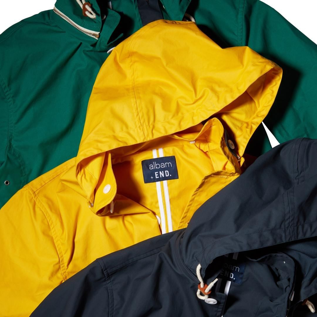 Albam X End. | The classic Fishermans Cagoule is back!
