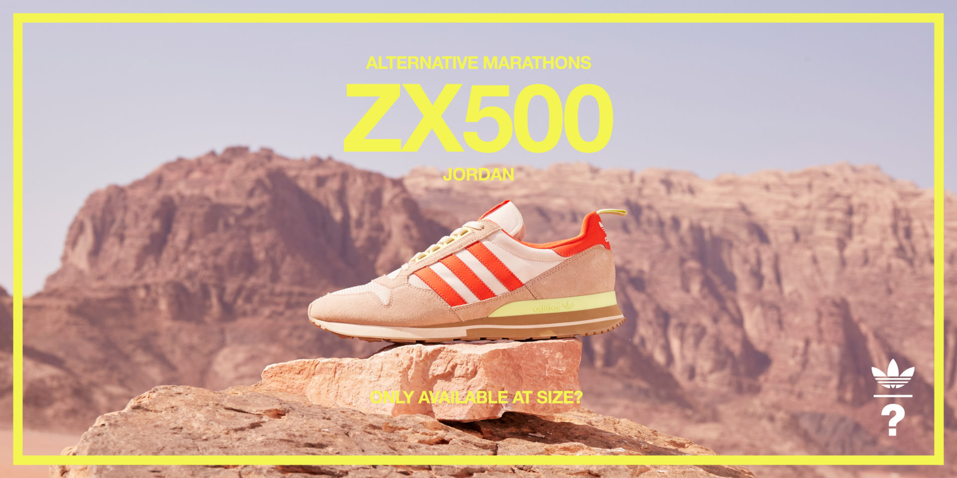 On the Run | adidas Originals ZX 500 'Jordan' – size? Exclusive