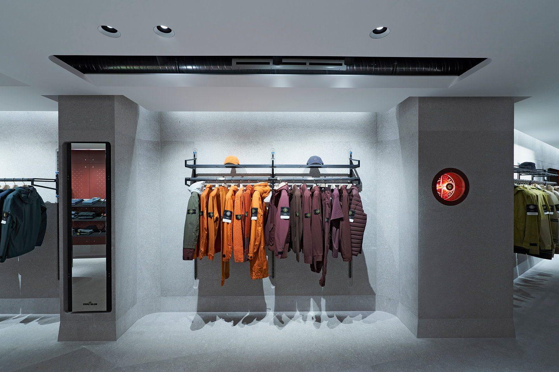 Gude Stone Island! Der neue Flagship Store eröffnet in Frankfurt