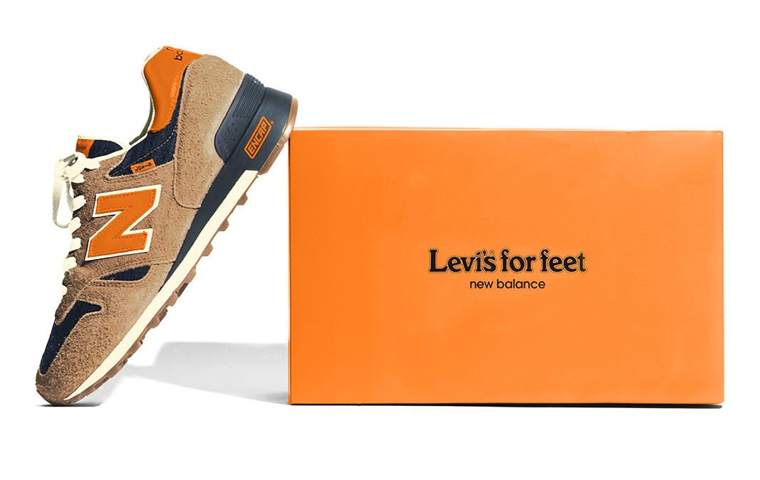 "Jean-ius | Levi´s X New Balance 1300 ""Orange Tab"""