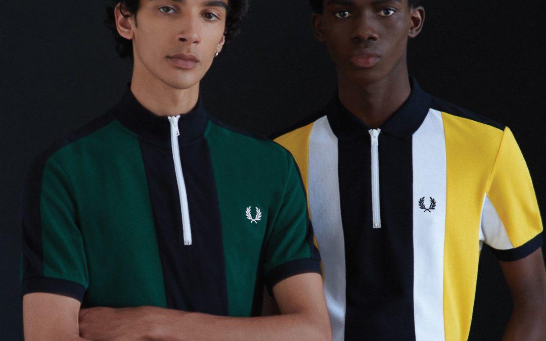 Fred Perry präsentiert vom Radsport inspirierte Polohemden