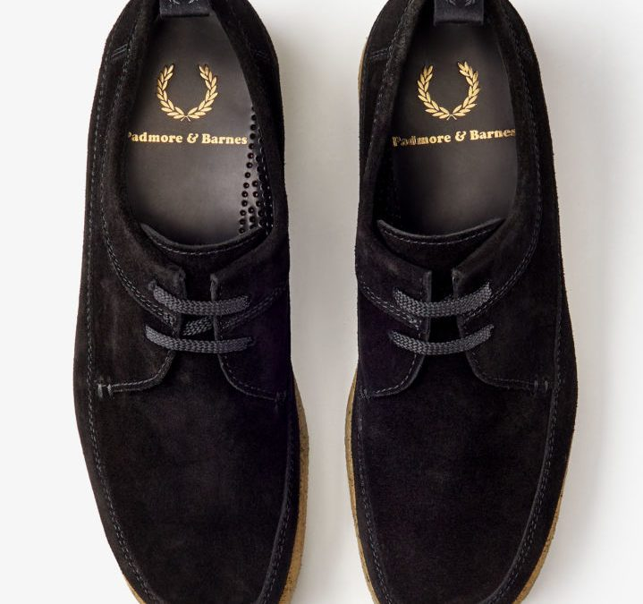 Traditionelles Schuhwerk | Fred Perry X Padmore & Barnes