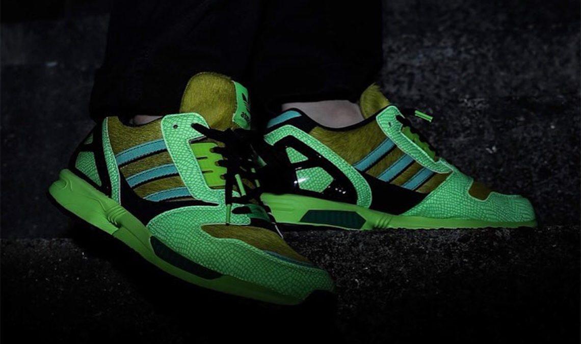 "A-ZX continues | adidas x Atmos ZX 8000 ""G-SNK"""