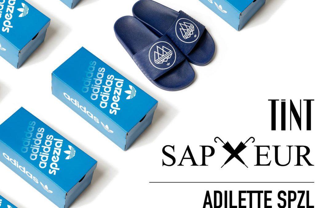 Tint Store & Sapeur OSB Instagram Raffle | adidas Adilette SPZL