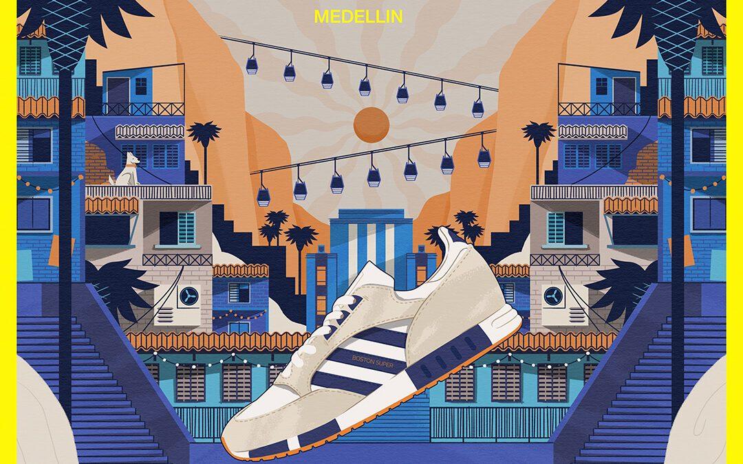 size? X adidas Originals Marathon Series