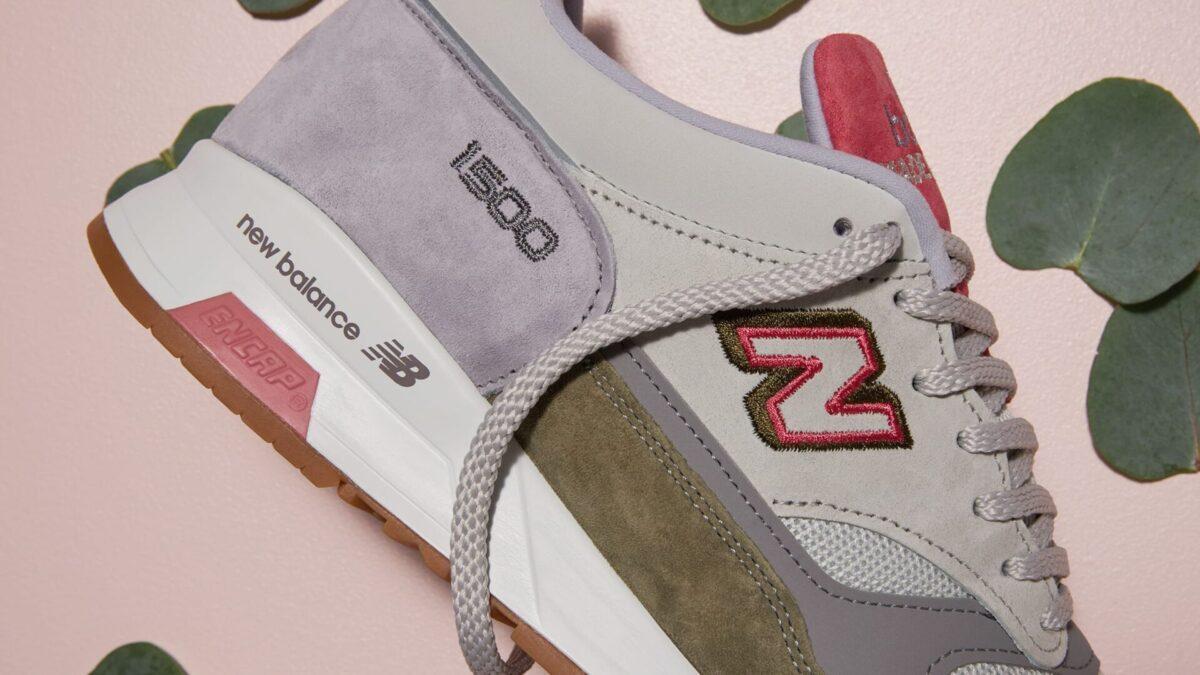 """END. X New Balance 1500 """"Rainbow Eucalyptus"""" – Made in England"""