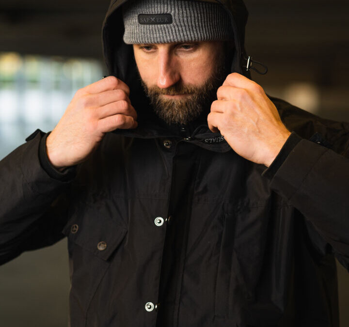Sapeur OSB  Casual Clothing | GTX Jacke und Beanie