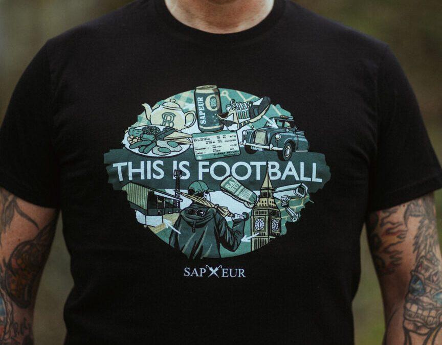 "Sapeur OSB ""This is Football"" T-Shirt"