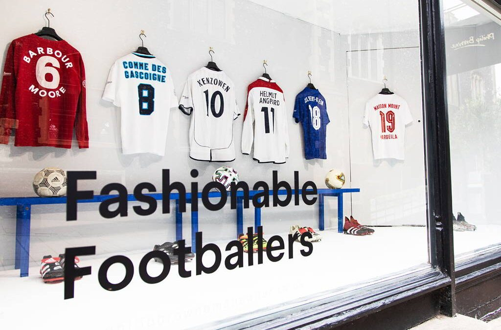 Fashionable Footballers | Patterns of Play X Philip Browne